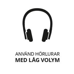 I den tysta avdelningen används hörlurar med låg volym