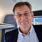 Hugo Oljemark är vd för Tåg i Bergslagen